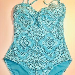 Women's Blue Old Navy Swimsuit